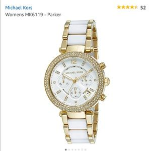Michael Kors Accessories - Michael Kors Gold-Tone Parker Watch